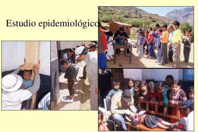 Estudio epidemiológico