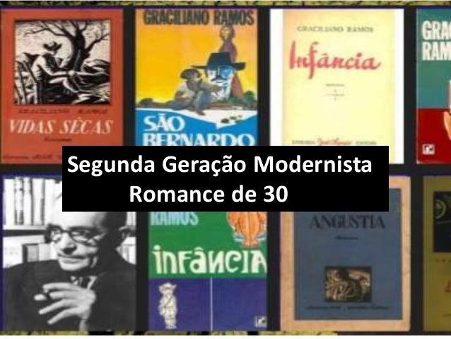 Segunda Geração Modernista Romance de 30