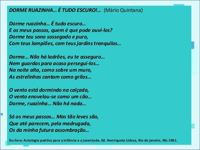 Boa Noite Mario Quintana: Prosa E Poesia