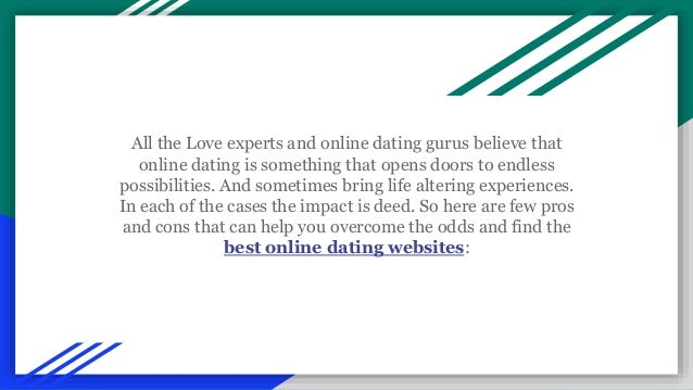 internet dating sites pros and cons