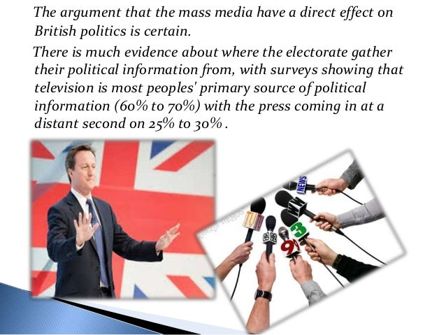 cons of mass media