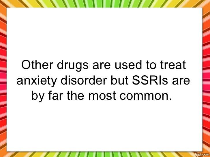 Common drugs used to treat depression