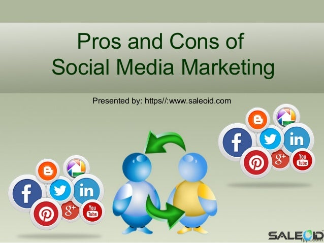 pros and cons of social media 6 pros & cons of social media in the classroom by aimee hosler like it or not, american youth are decidedly online according to a 2013 report by pew research, 78 percent of teens have cell phones.