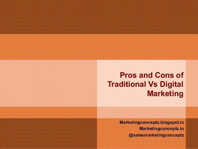 Modern Marketing vs Traditional Marketing!
