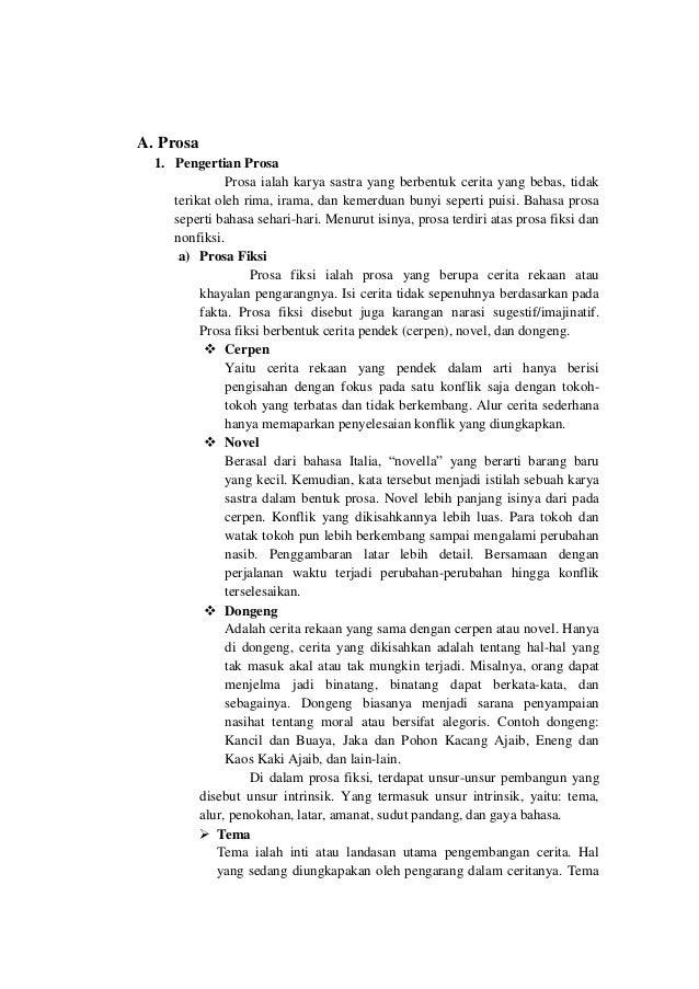 Cerita Fiksi Dalam Novel Slideshare Net :: CONTOH TEKS