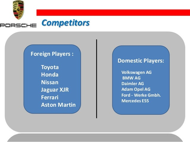 case study vw porsche Case study porsche situation: porsche cars north america (pcna) needed enhanced visibility into their vehicle portfolio, and wanted to be able to make faster, more accurate decisions regarding the portfolio.