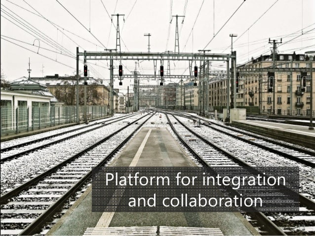© Prosci Inc. All rights reserved. Platform for integration • Picture of complex roads? • Other integration picture Platfo...