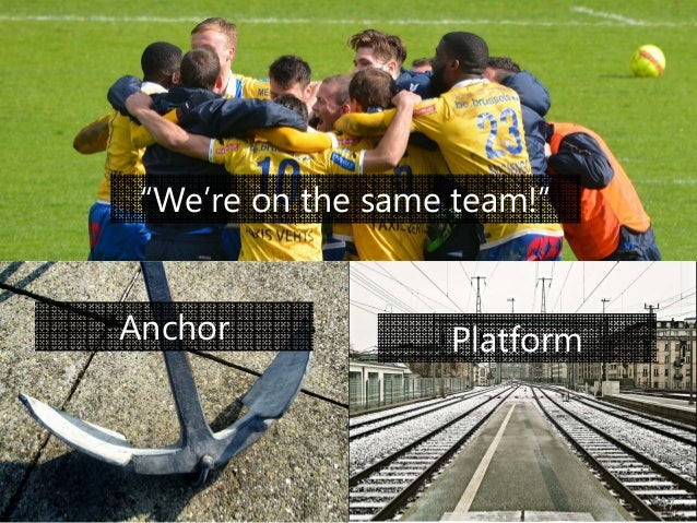 """© Prosci Inc. All rights reserved. Anchor Platform """"We're on the same team!"""" 47"""