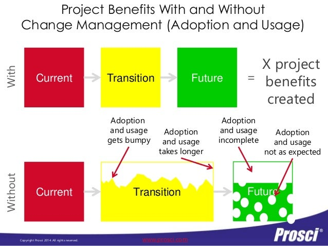 Change Management ROI - Prosci Conference Board 2014 Presentation