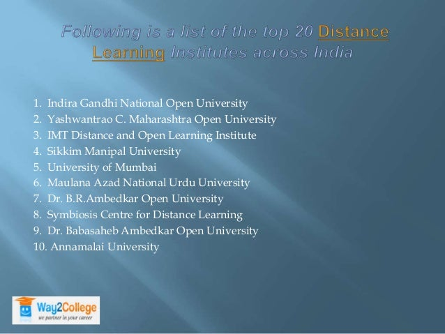advantages of open distance learning Foreword as a force contributing to social and economic development, open and distance learning is fast becoming an accepted and indispensable part of the main.