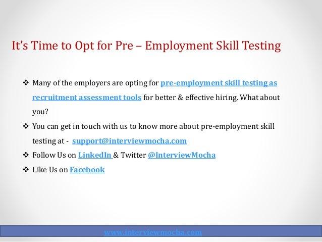 employment skill