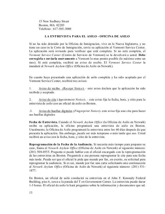 Pro Se Asylum Manual (Spanish)