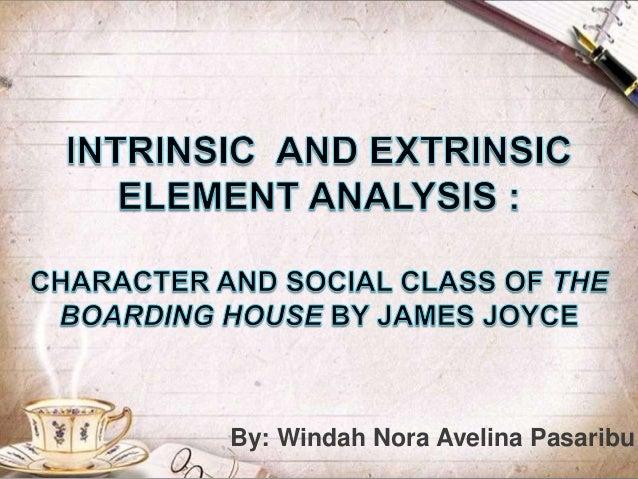 the boarding house james joyce character analysis