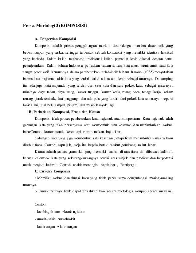 Proses Morfologi 3