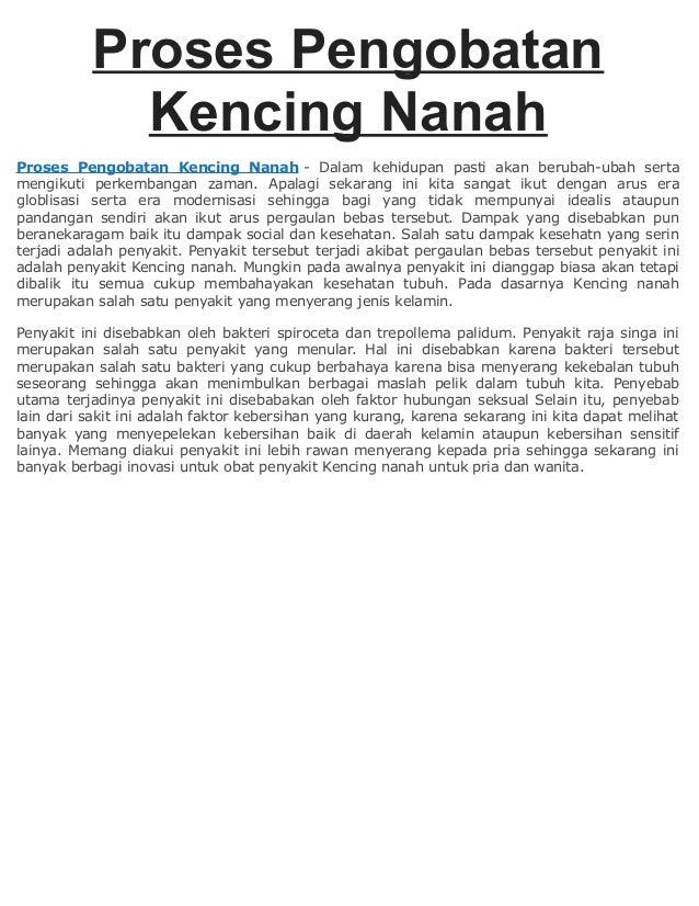 Proses Pengobatan Kencing Nanah Proses Pengobatan Kencing Nanah - Dalam kehidupan pasti akan berubah-ubah serta mengikuti ...