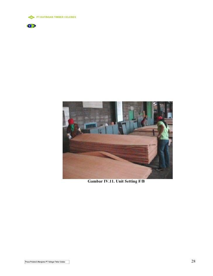 Proses produksi dan standar kerja plywood