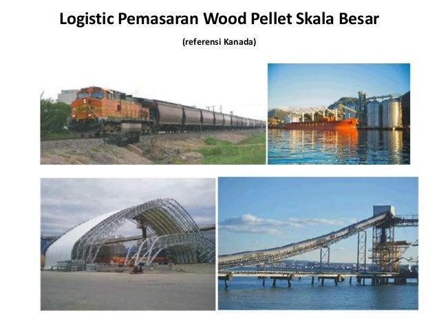 Logistic Pemasaran Wood Pellet Skala Besar (referensi Kanada)