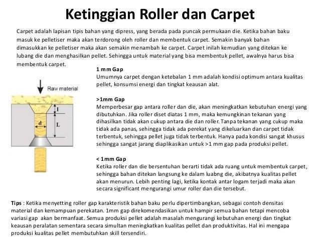 Ketinggian Roller dan Carpet Carpet adalah lapisan tipis bahan yang dipress, yang berada pada puncak permukaan die. Ketika...