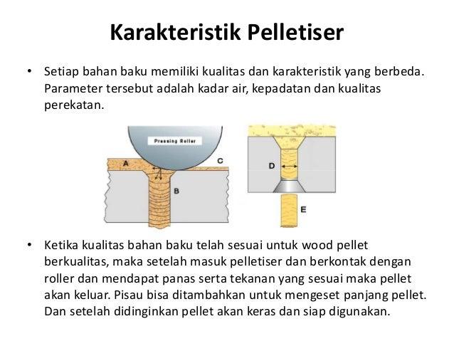 Karakteristik Pelletiser • Setiap bahan baku memiliki kualitas dan karakteristik yang berbeda. Parameter tersebut adalah k...