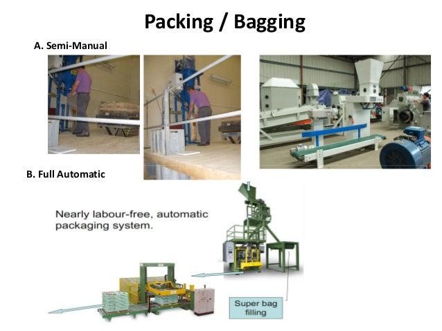 Packing / Bagging A. Semi-Manual B. Full Automatic
