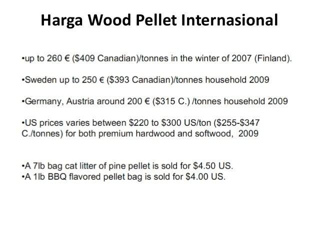 Harga Wood Pellet Internasional