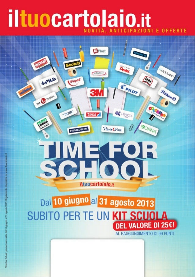 Time for School - Newsletter scuola 2013