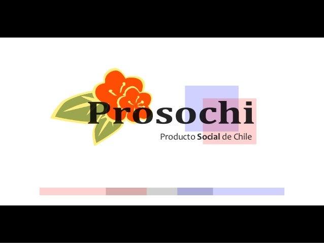 Producto Social de Chile