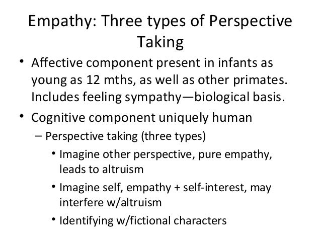 empathy and pro social behavior The relationship between empathy, self-efficacy and pro-social behavior in  college students discusses about the socialite of college students.