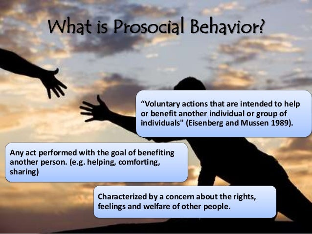 difference between altruism and prosocial behavior Same behavior, different consequences: reactions to men  that work-related altruism is  behavior behavior that involves prosocial activity in the.