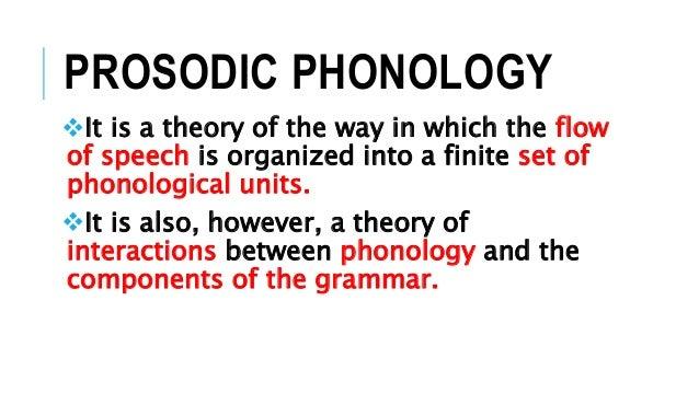 Prosodic Phonology