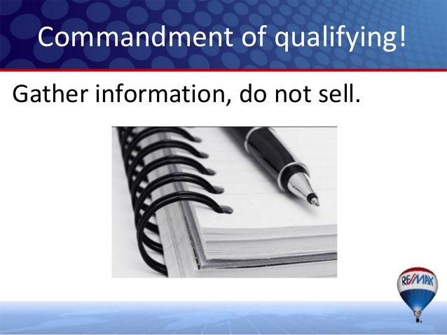 Prospect call qualifiying Slide 2