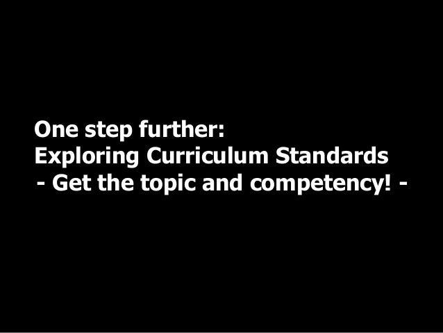 Achievement statement – Korean case Section of science subject (middle school) Content of curriculum Criteria of achieveme...