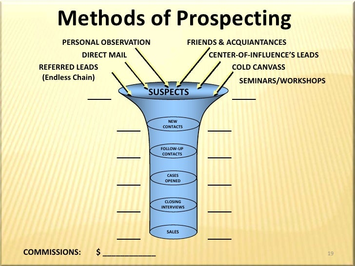 Prospecting for Clients