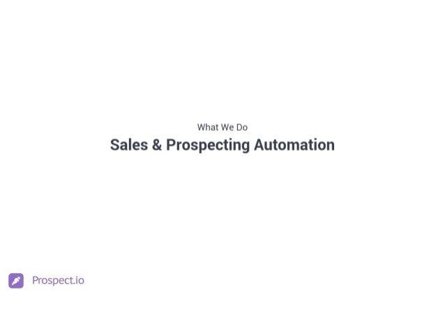 Prospect.io Culture Deck Slide 2