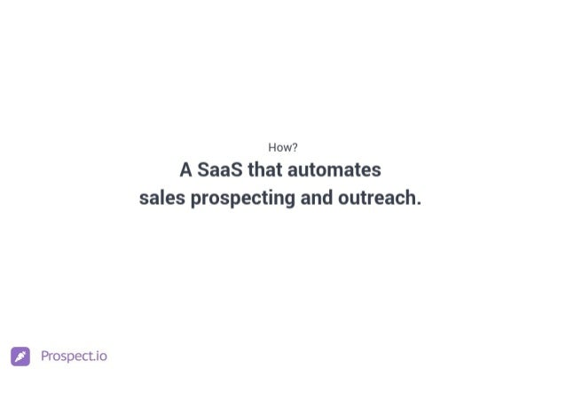 Prospect.io Culture Deck Slide 3