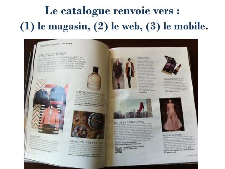 Bergdorf redirige les consommateurs vers son site mobileavec des TAG 2D dans ses pages de produits                        ...