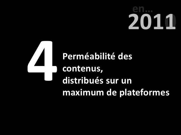 Le Contenu de marque est distribué partoutSite corporate | Mobile |Tablette | Facebook |Twitter | Blog | Partenaires | Fli...