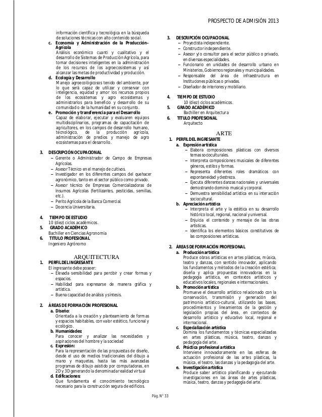 PROSPECTO DE ADMISIÓN 2013 Pág. N° 35 . Paternidad . Ciencias forenses . Genética del cáncer . Enfermedades hereditarias -...