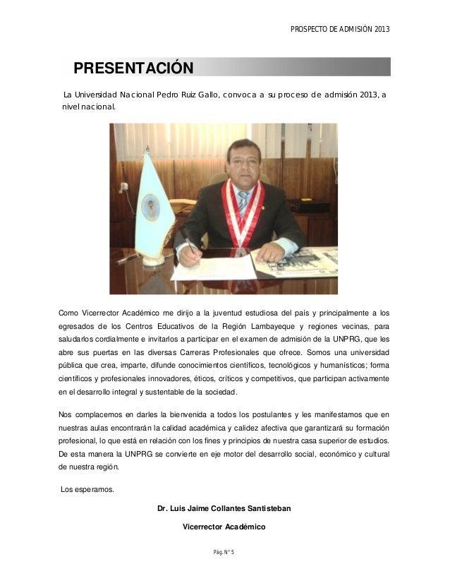 PROSPECTO DE ADMISIÓN 2013 Pág. N° 7 CONCURSO DE ADMISION 2013-I POSTULANTES EXONERADOS Y ORDINARIOS FECHA ACTIVIDADES FEB...