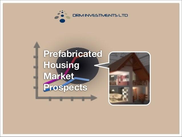 Prefabricated Housing Market Prospects