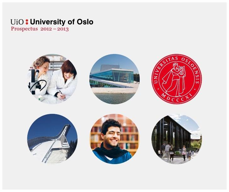Prospectus 2012 – 2013