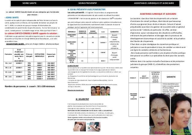 Le cabinet SAFICO Conseils-Santé est une entreprise qui s'est donnée pour mission : I-SOINS SANTE La santé est le capital ...