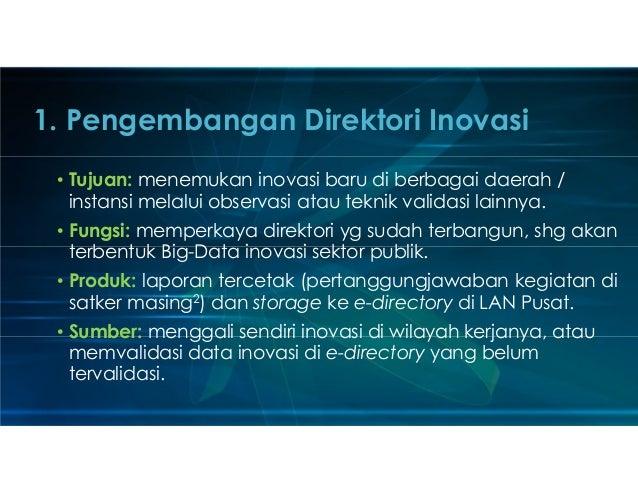 Prospek Pengembangan Inovasi dan Peran PKP2A LAN Slide 2