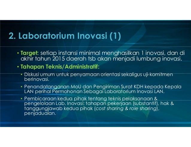 Prospek Pengembangan Inovasi dan Peran PKP2A LAN Slide 3