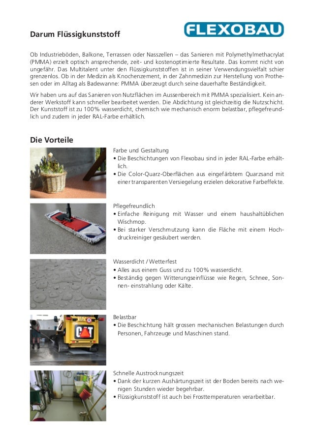 Abdichtungen & Beschichtungen mit Flüssigkunststoff Slide 3