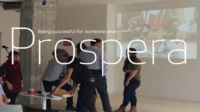 Being successful for someone else
