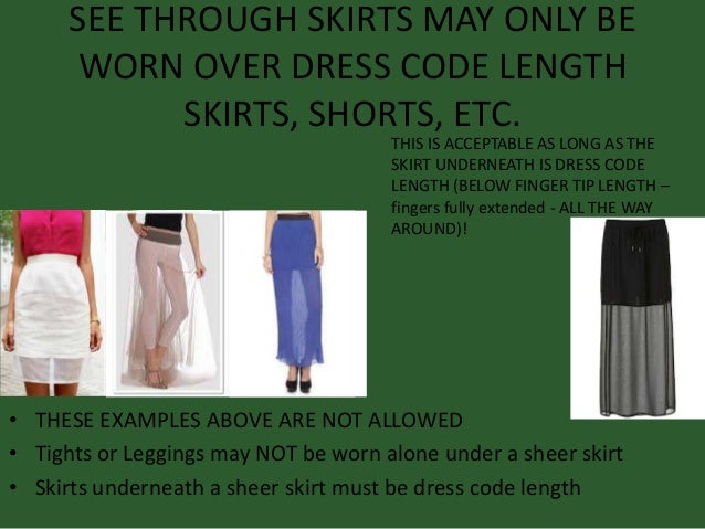 Dress code violation - 5 2