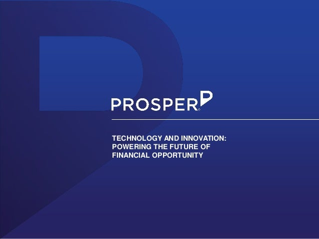 TECHNOLOGY AND INNOVATION: POWERING THE FUTURE OF FINANCIAL OPPORTUNITY