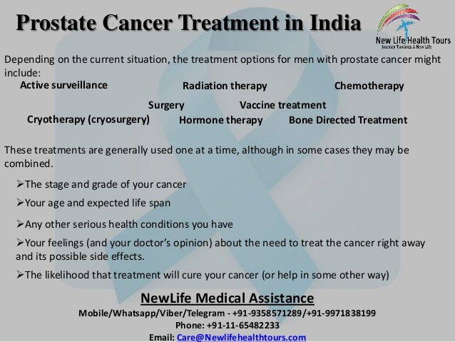 weight loss prostate cancer treatment