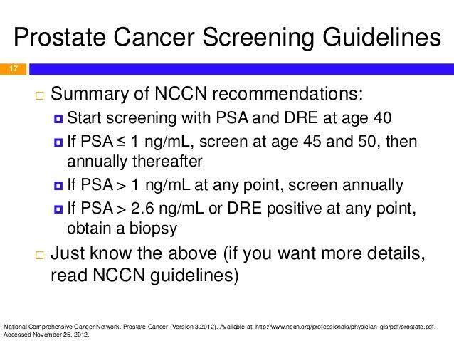 prostate cancer summary